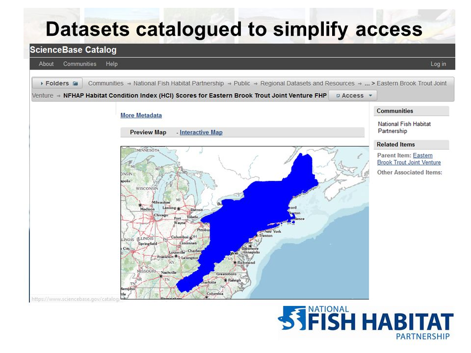 Datasets catalogued to simplify access