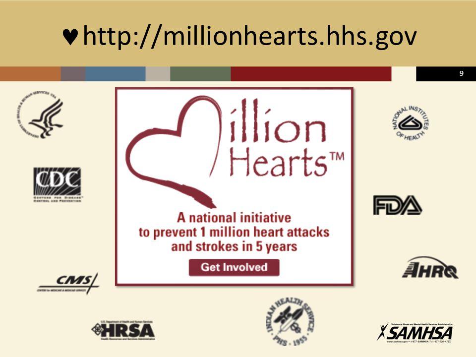http://millionhearts.hhs.gov 9