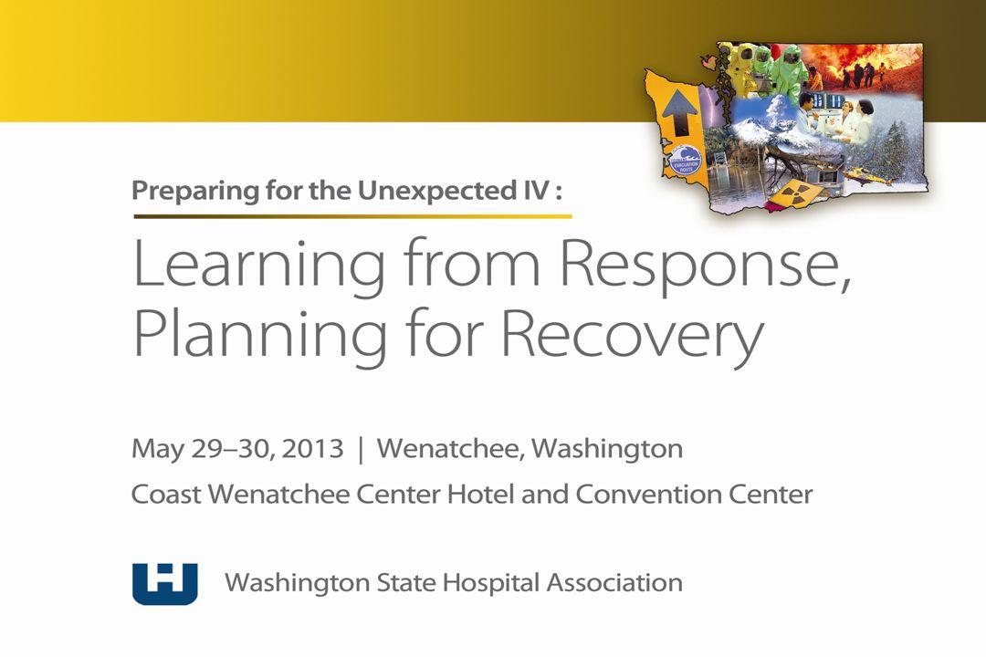 Washington State: A Focus on Preparedness Nancy J.