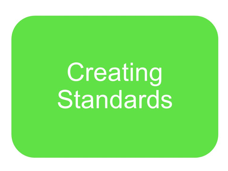 Performance Goals and Indicators Operating Standards Suggested Practices Systems Recommendations What are the Standards of Excellence?