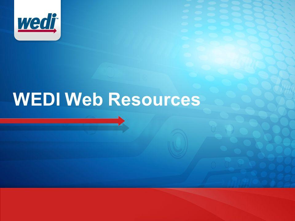 WEDI Web Resources