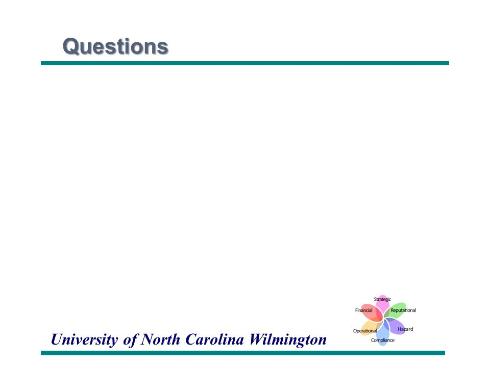 University of North Carolina WilmingtonQuestions