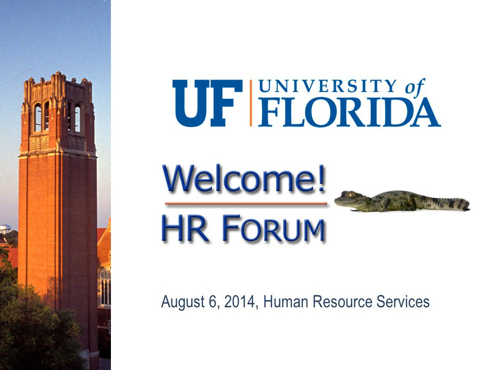 August 6, 2014, Human Resource Services