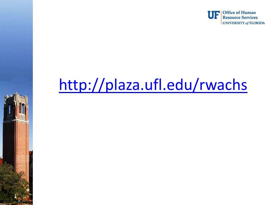 http://plaza.ufl.edu/rwachs