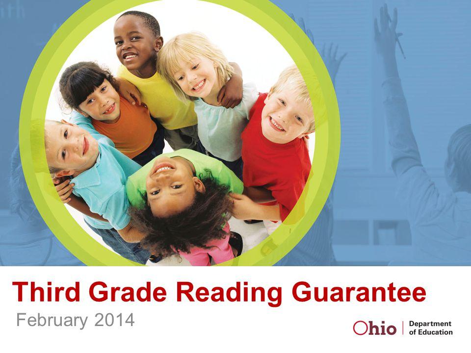 Third Grade Reading Guarantee February 2014