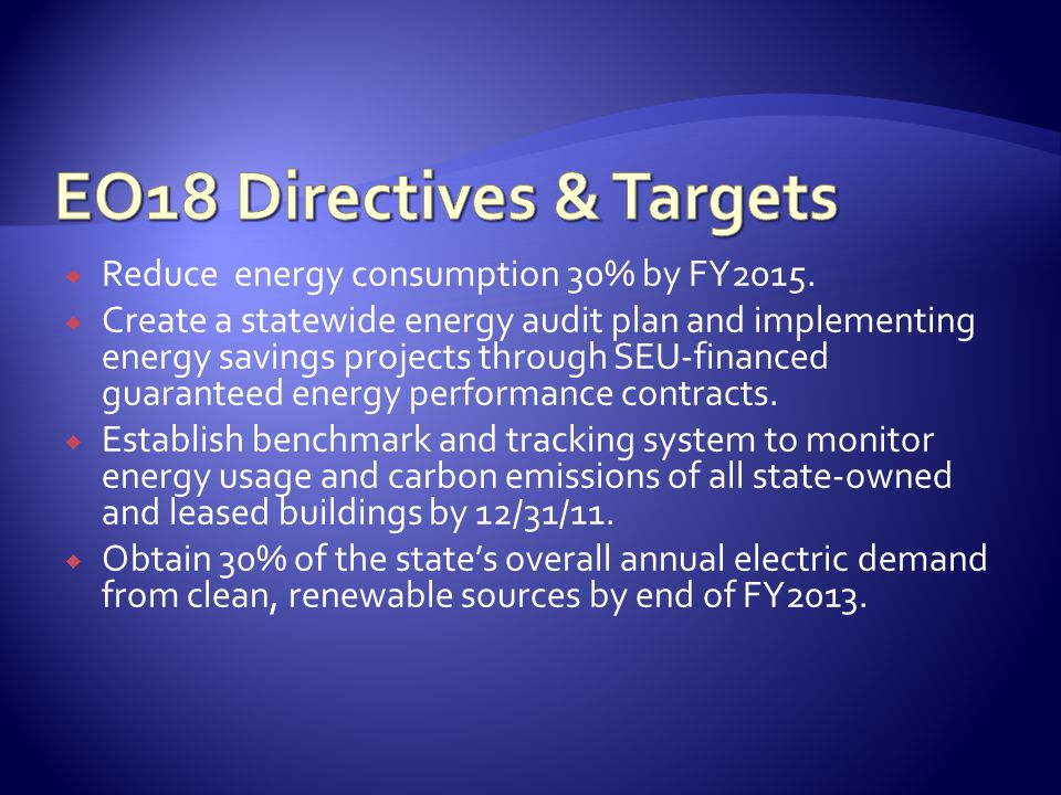  Reduce energy consumption 30% by FY2015.