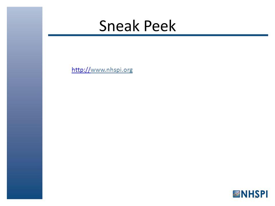 Sneak Peek 15 http://http://www.nhspi.org