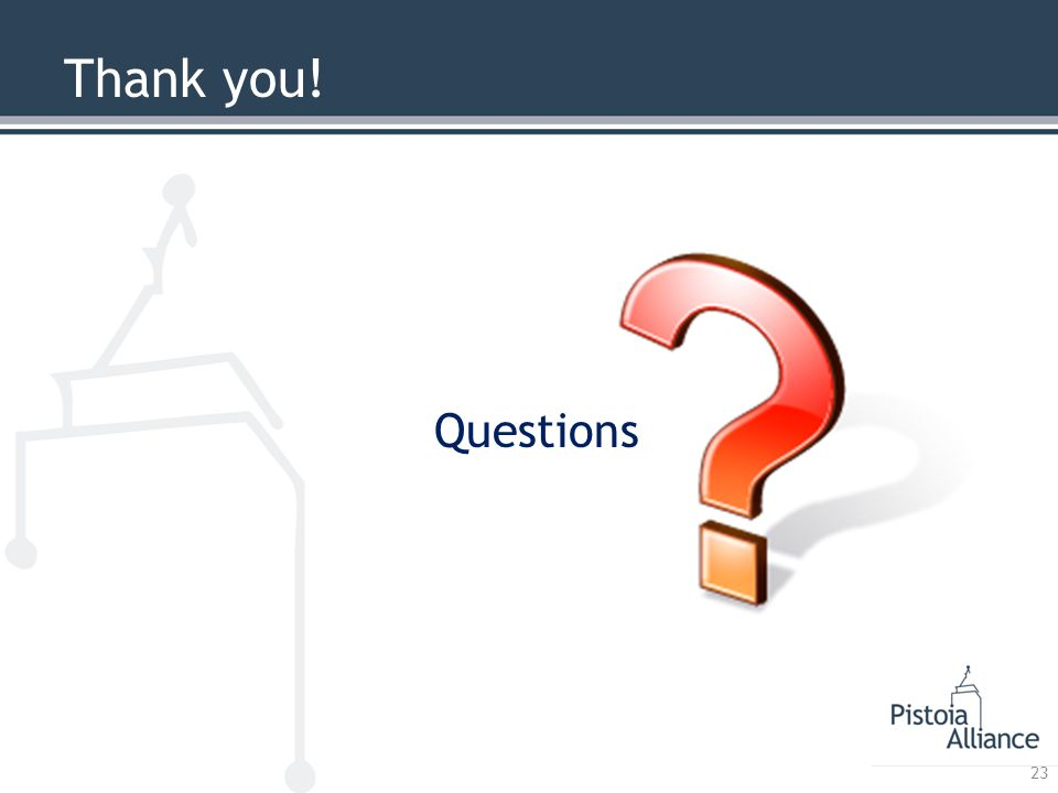 Thank you! Questions 23