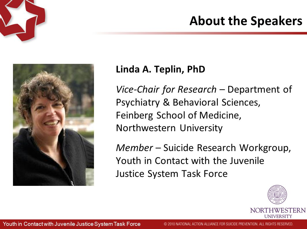 Co-leads: Melodee Hanes, JD – Acting Administrator, Office of Juvenile Justice and Delinquency Prevention, Office of Justice Programs, US Department of Justice Joseph J.