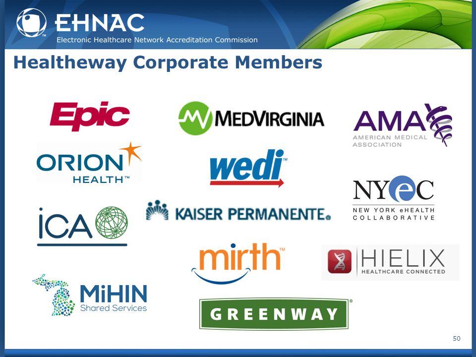 Healtheway Corporate Members 50