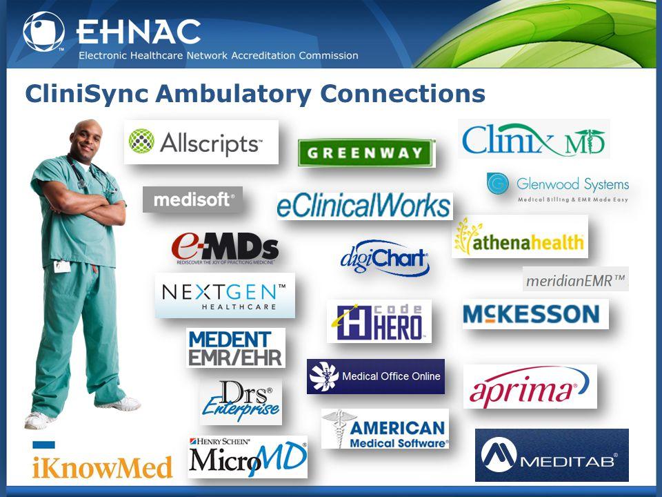 CliniSync Ambulatory Connections