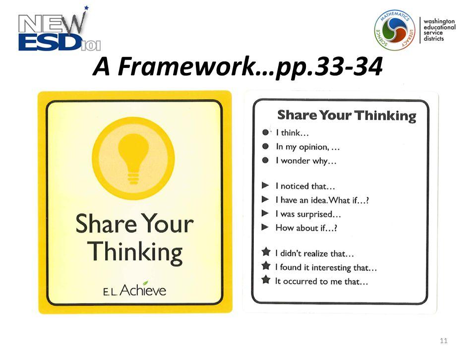 A Framework…pp.33-34 11