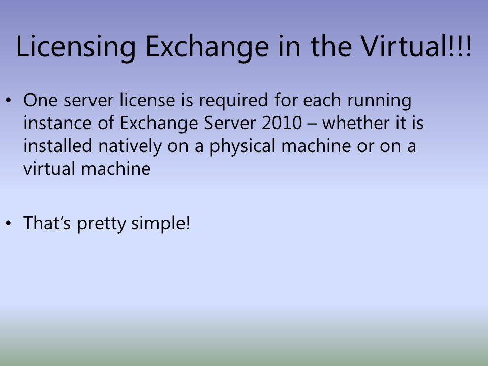 Licensing Exchange in the Virtual!!.
