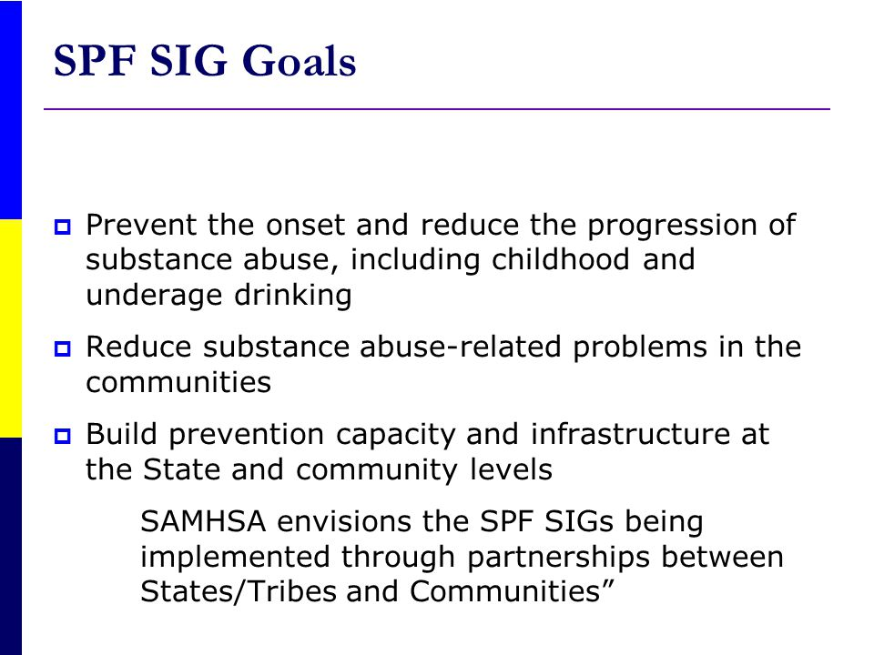 OUTCOME BASED PREVENTION Building Logic Models to Address Substance-Related Consequences and Substance Abuse