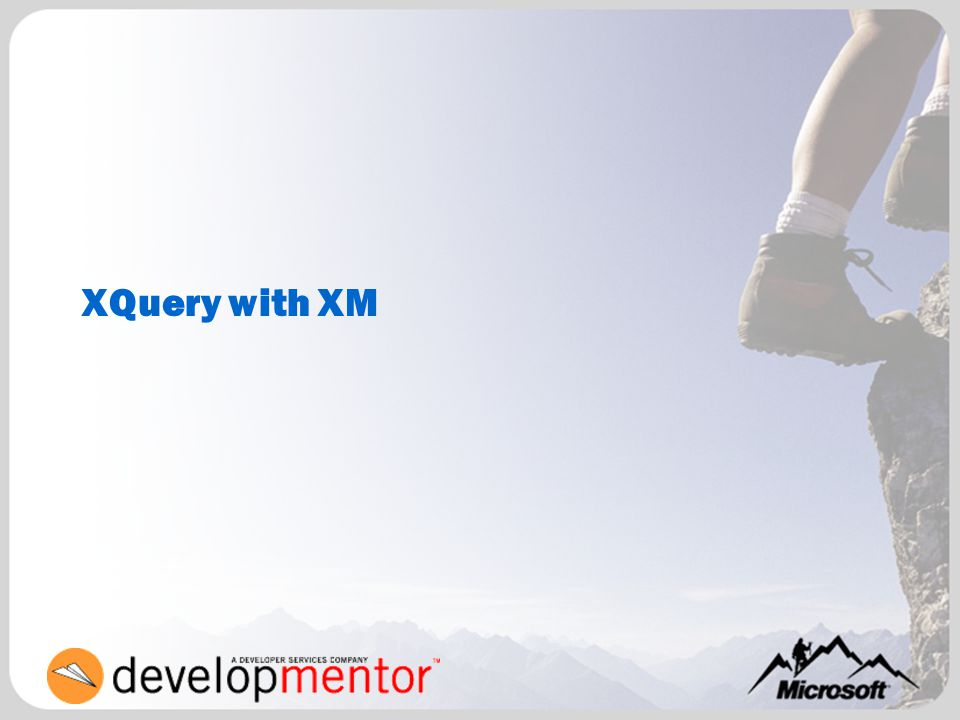 XQuery with XM