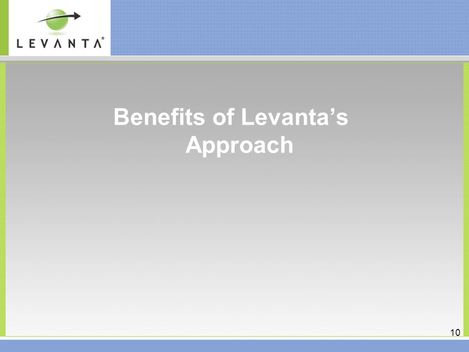 8 How Levanta Addresses the Problem Levanta provides end-to-end Linux lifecycle management.