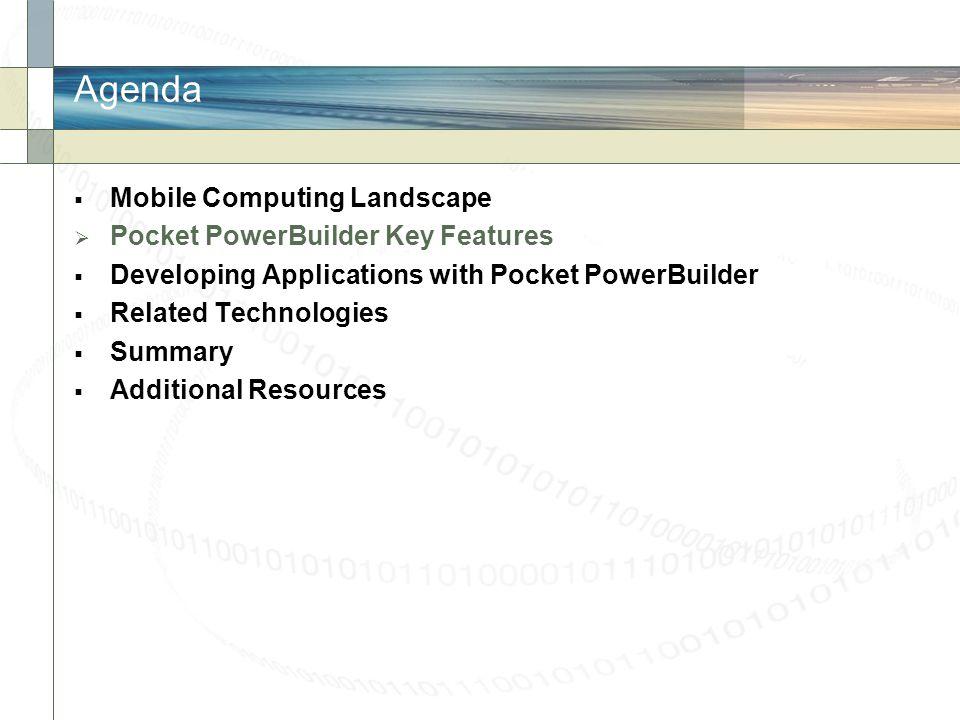 Pocket PowerBuilder Overview
