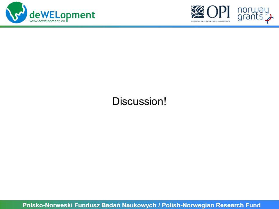 Polsko-Norweski Fundusz Badań Naukowych / Polish-Norwegian Research Fund Discussion!