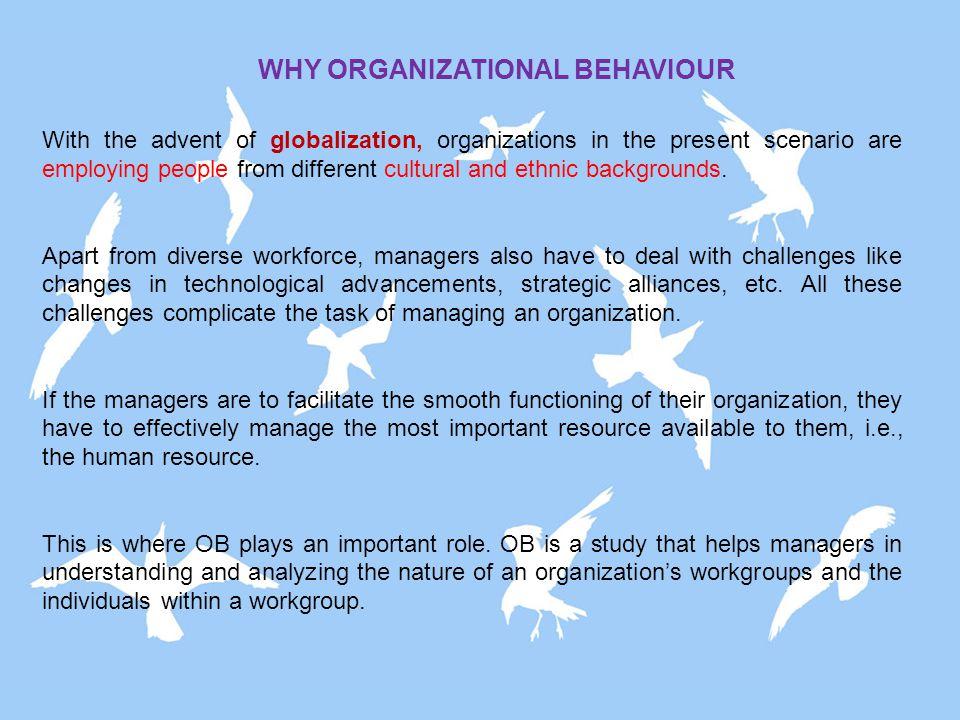 Organizational Behaviour Human Relations Hawthorne Studies Scientific Management 1900's 1940's 1970's Classical Organization Theory