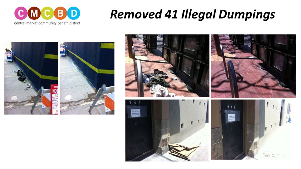 267 Stickers and Flyers Removed