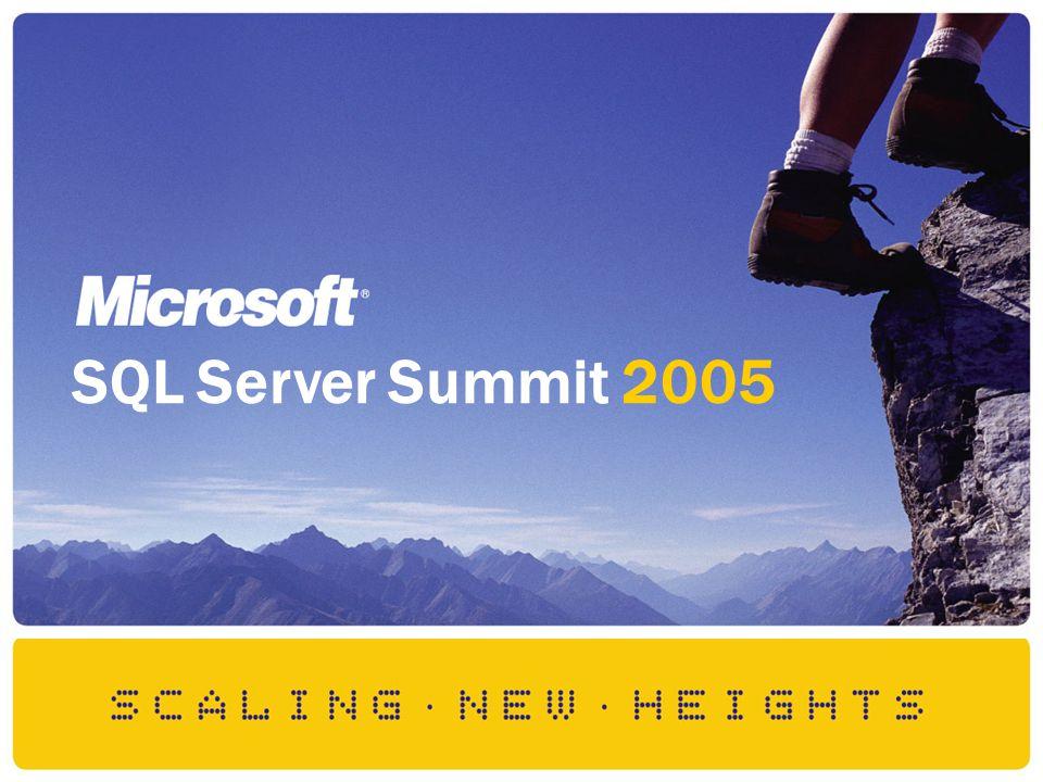SQL Server Summit 2005