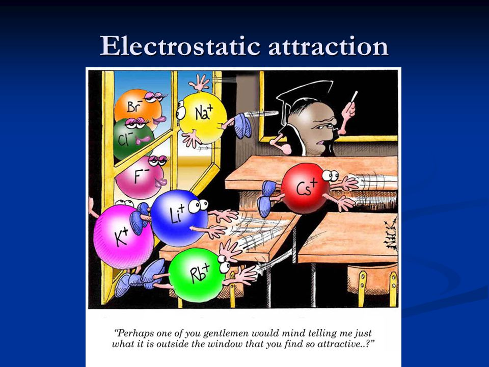 When a metal gives up one or more electrons to a non-metal, the resulting oppositely-charged ions will experience an electrostatic attraction: