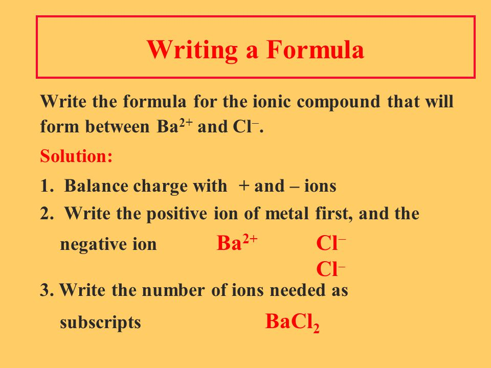 Solution Complete the names of the following binary compounds with variable metal ions: FeBr 2 iron ( II ) bromide Cu 2 Ocopper ( I ) oxide SnCl 4 tin (IV) chloride Fe 2 O 3 iron (III) oxide CuScopper (II) sulfide