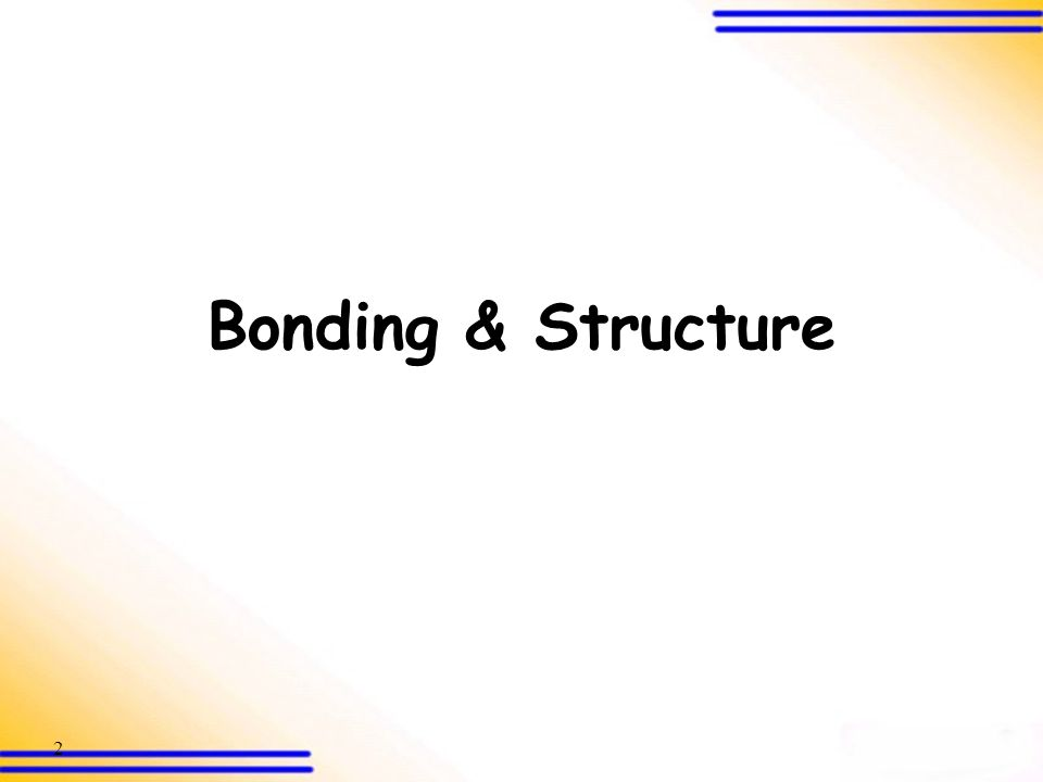 12 Three types of chemical bonds 2.Covalent bond Introduction (SB p.186) Electrostatic attraction between nuclei and shared electrons