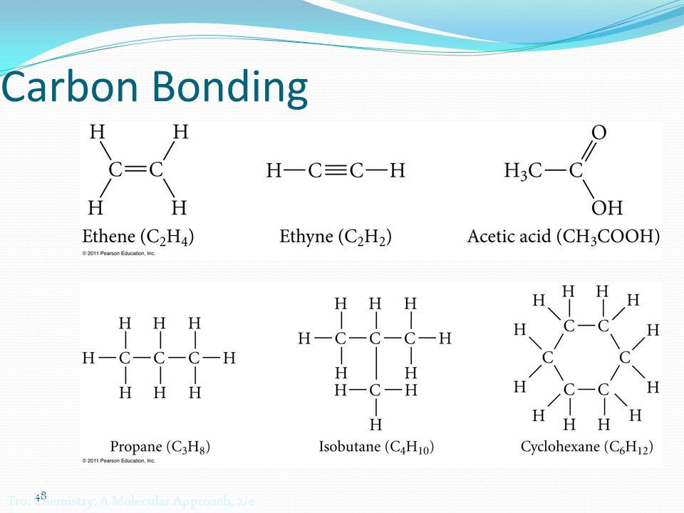 48 Carbon Bonding Tro: Chemistry: A Molecular Approach, 2/e
