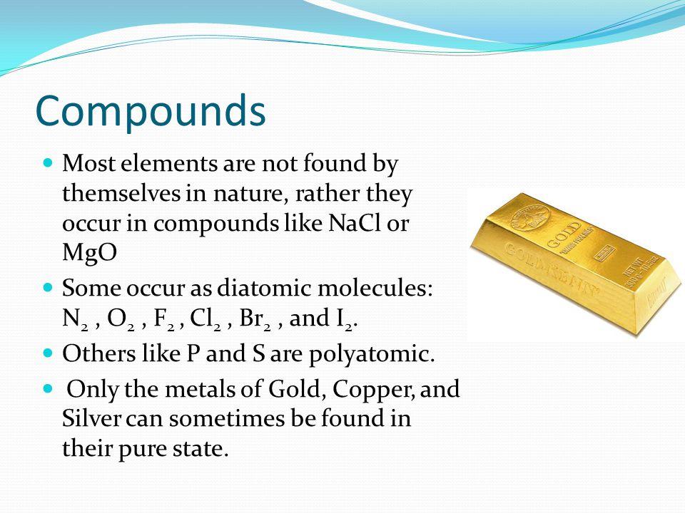 Modern Classifying Compounds Organic vs.
