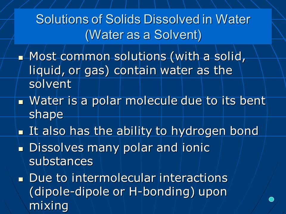 Calculating Mass Percent: Example 1 A 135 g sample of seawater is evaporated to dryness, leaving 4.73 g of solid residue.