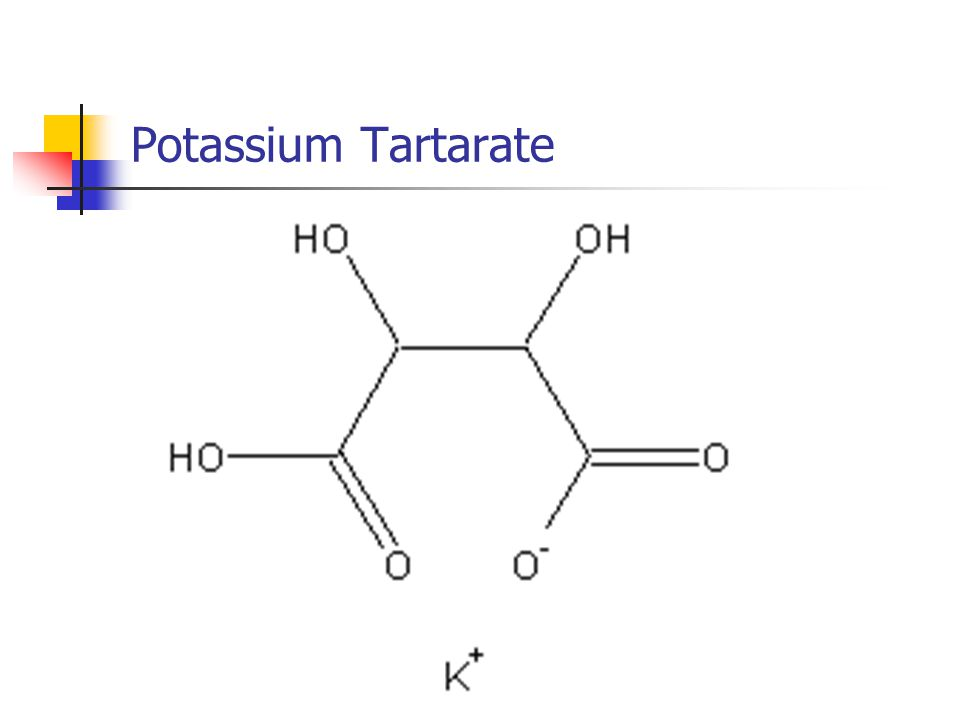 Potassium Tartarate