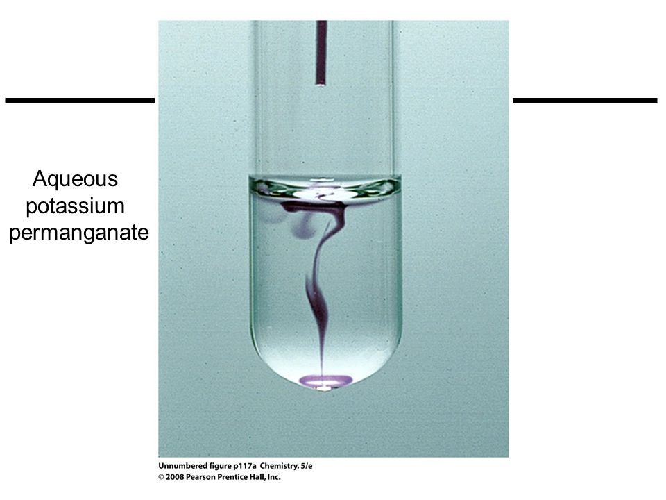 Aqueous potassium permanganate