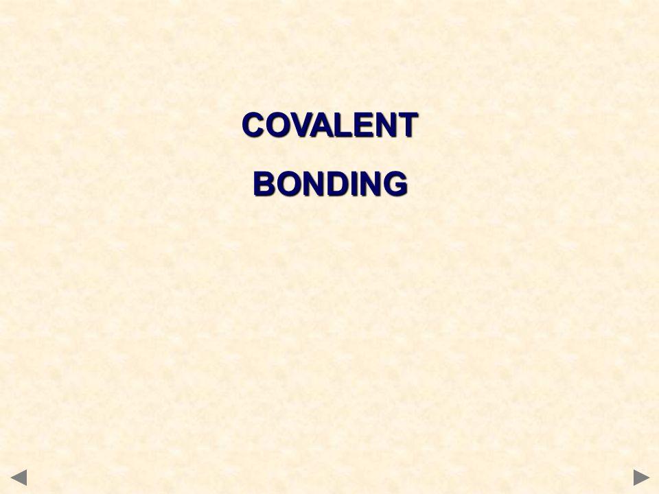 COVALENTBONDING