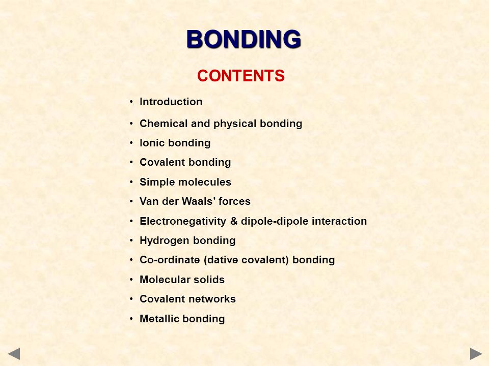 © 2008 JONATHAN HOPTON & KNOCKHARDY PUBLISHING AN INTRODUCTION TO BONDING THE END