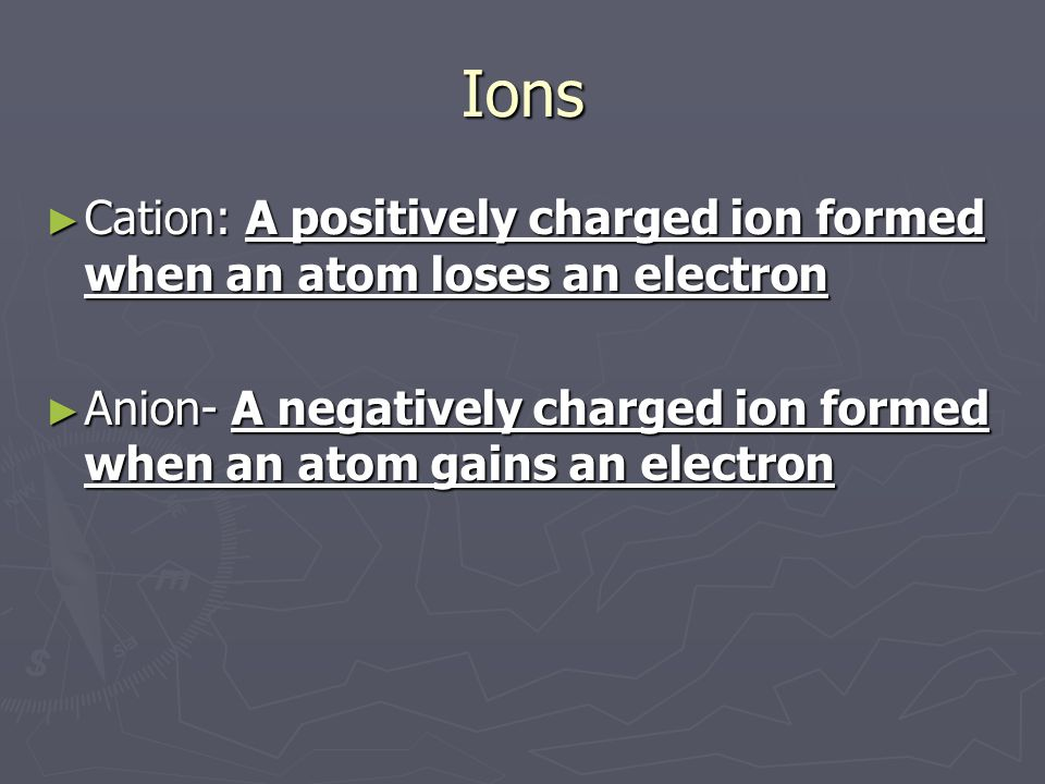 Chemical Bonds ► Chemical bond- an attraction (force) between atoms that holds them together