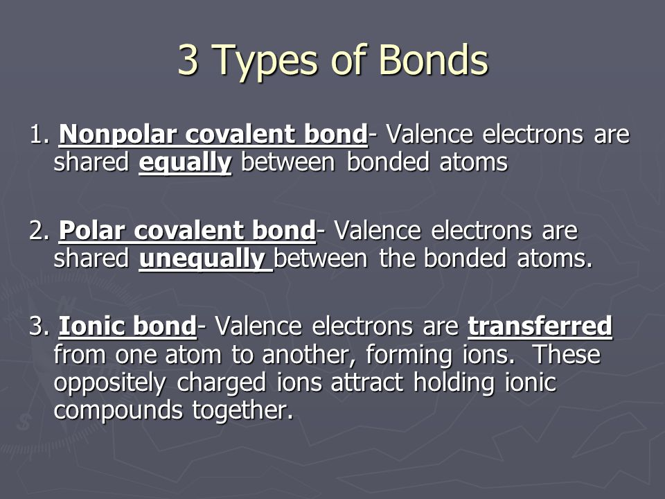 Ionic Bonds ► Ionic compound –  compound made up of positive and negative ions that combine to be neutral  consists of a metal and a nonmetal OR a metal and a polyatomic ion