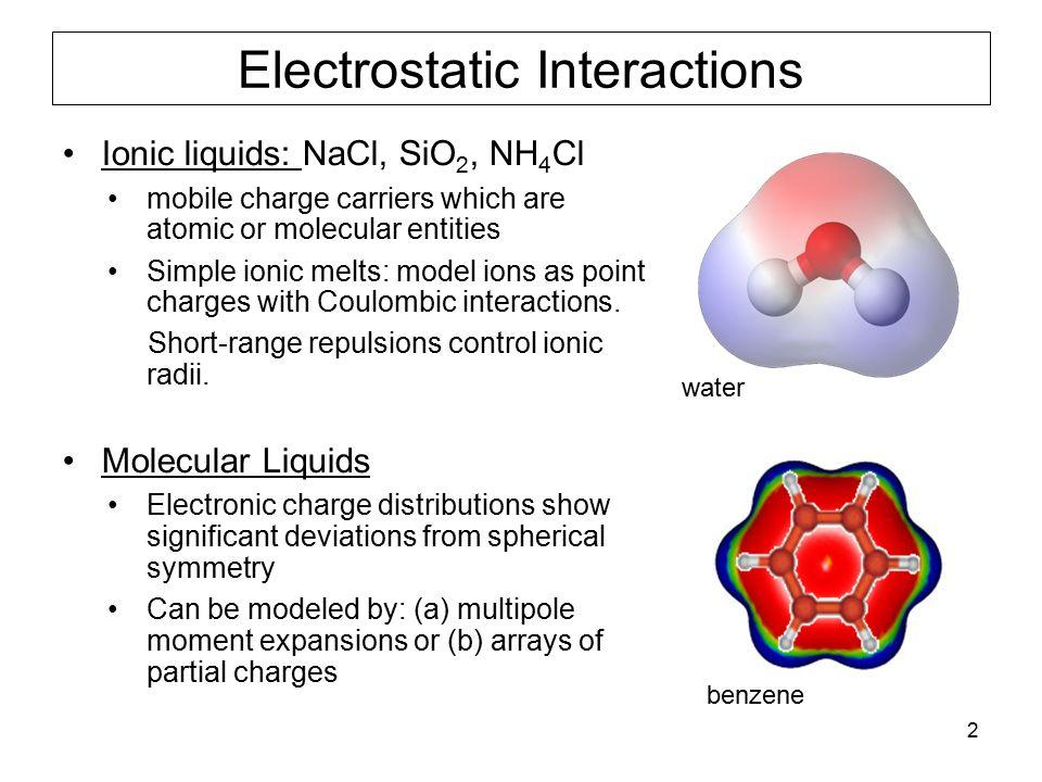 23 Rotational and Vibrational Modes of Water Symmetric Stretch 3657cm -1 http://chsfpc5.chem.ncsu.edu/~franzen/CH795N/lecture/XIV/XIV.html Rotational Constants (cm -1 ) A40.1 B20.9 C13.4 Bend 1595cm -1 Asymmetric Strech 3756cm -1 http://www1.lsbu.ac.uk/water/vibrat.htm Intermolecular vibrations (cm -1 ) Librations800 OO stretch  200 OOO bend  60