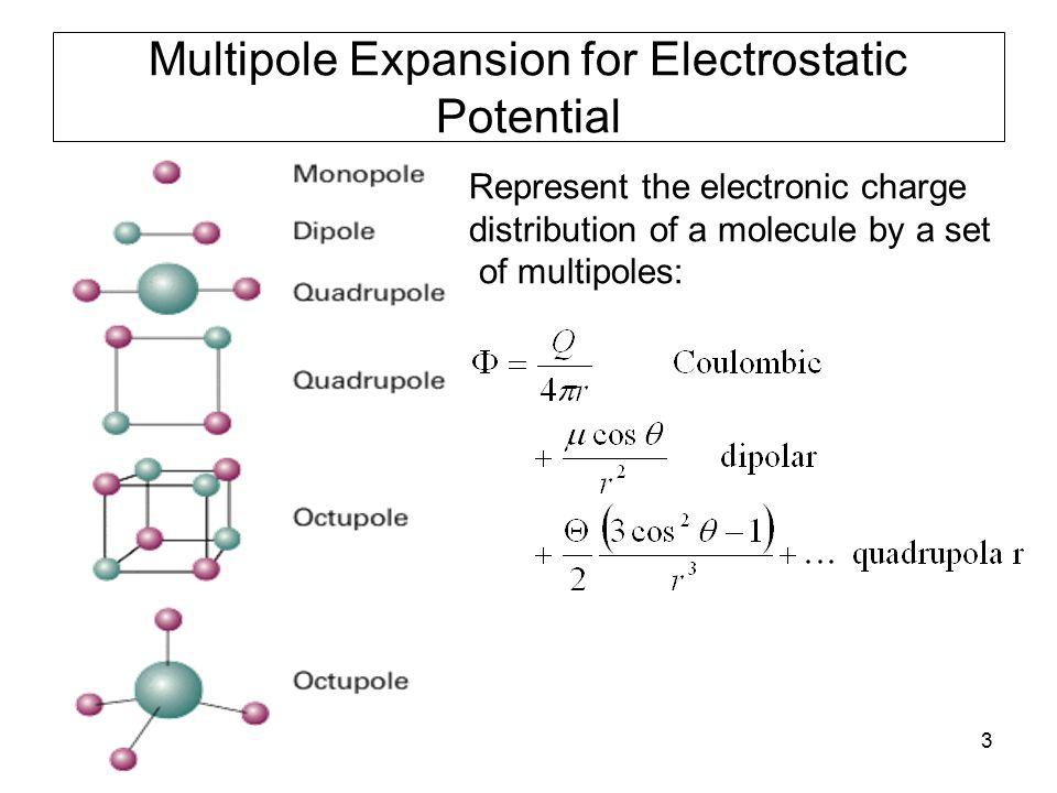 34 Diatomic molecule (contd) Three unknowns In the case of a diatomic molecule, can obtain quadratic equation in.