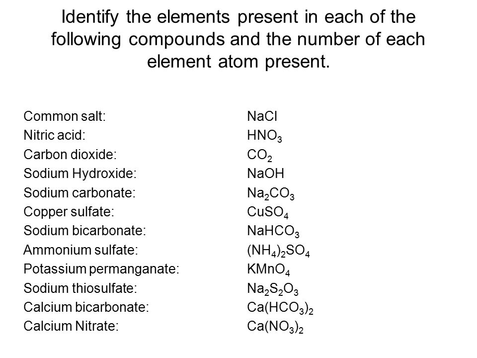 Rules for writing chemical formulas 1.Write the symbols and charge for ions involved.