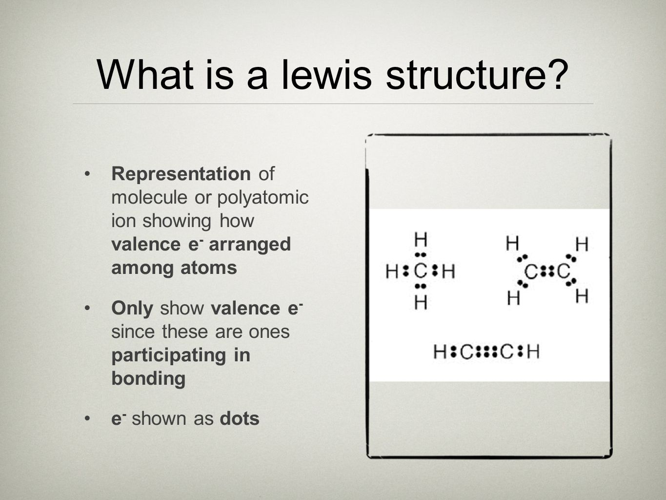 What is a lewis structure.