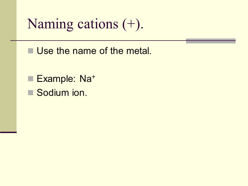 Equations for the Formation of Anions... : F : + e -  : F - :....