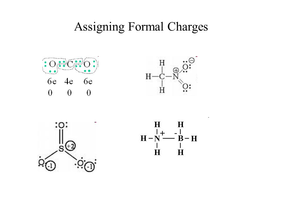 Assigning Formal Charges