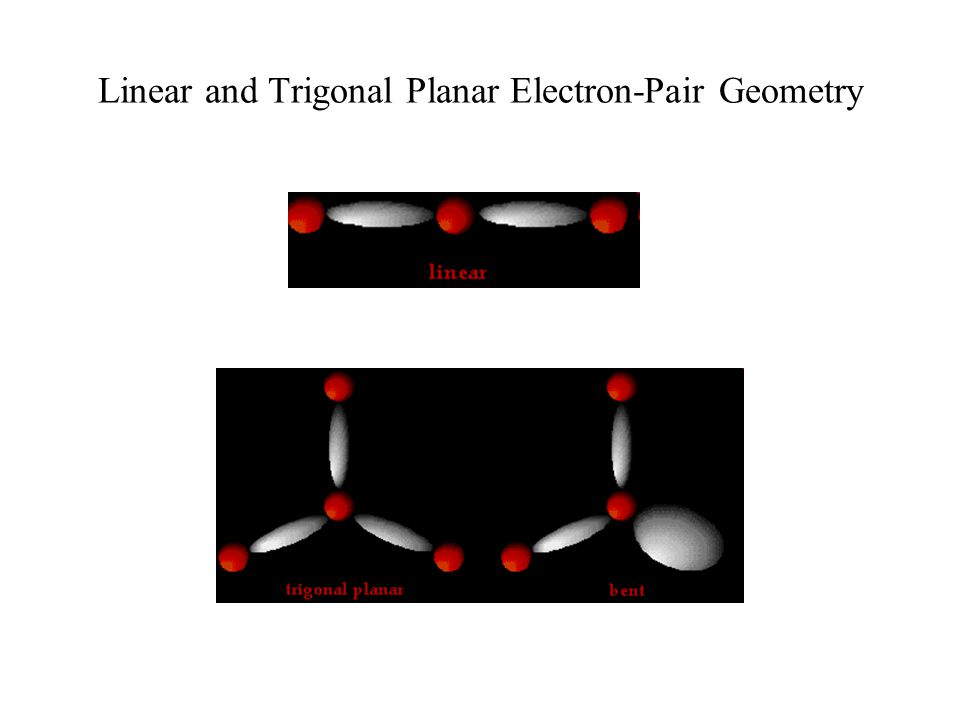Linear and Trigonal Planar Electron-Pair Geometry