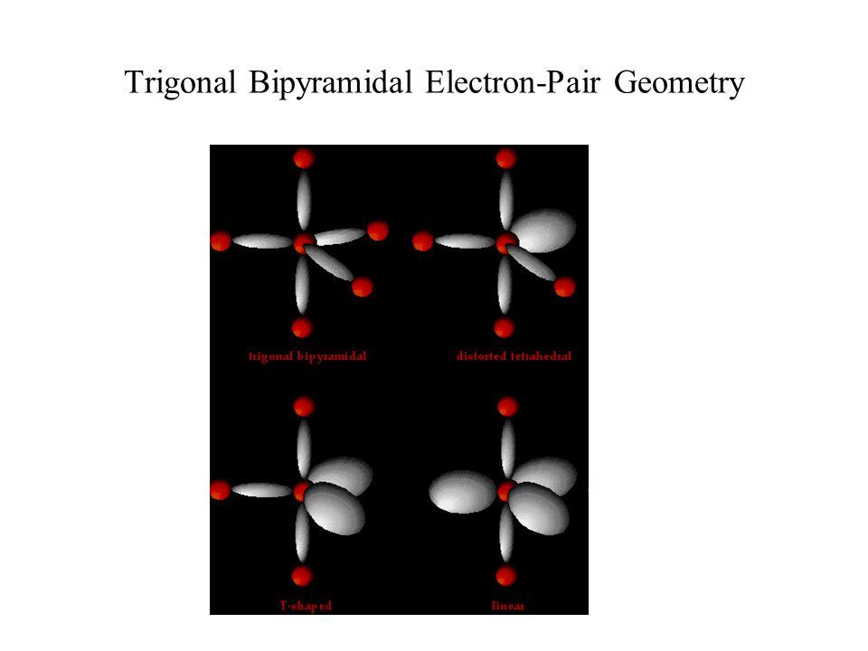 Trigonal Bipyramidal Electron-Pair Geometry