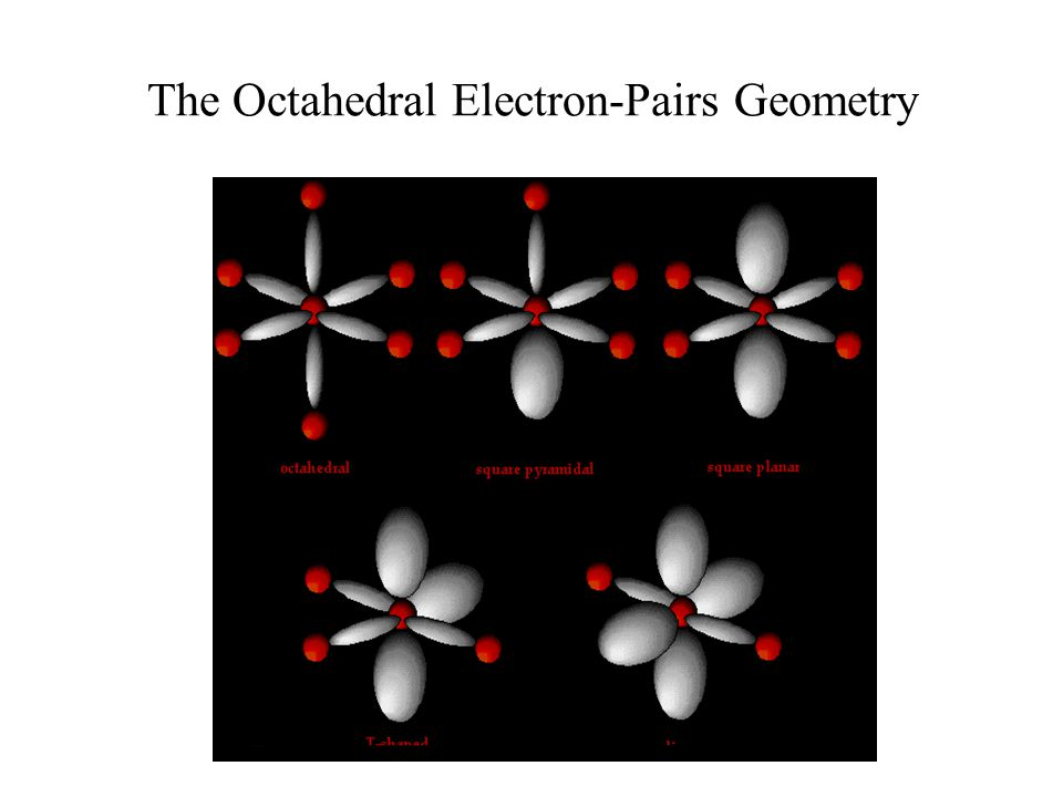 The Octahedral Electron-Pairs Geometry