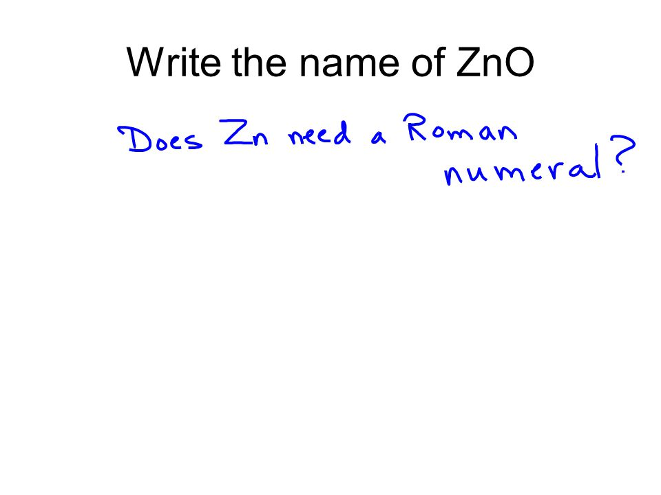 Zinc Oxide Zinc oxide is added to many breakfast cereals, as a source of zinc; a necessary nutrient.