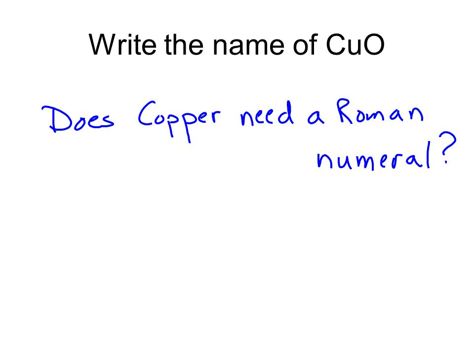 Copper (II) Oxide Copper (II) oxide can be used in batteries.