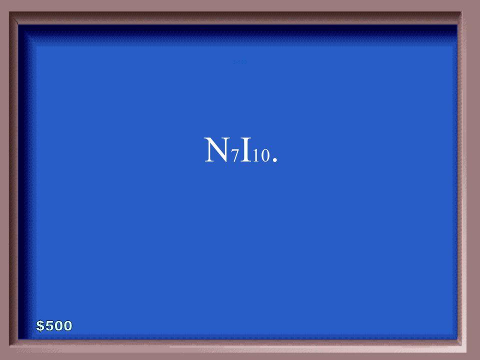 5-400A 1 - 100 What is Selenium Hexachloride