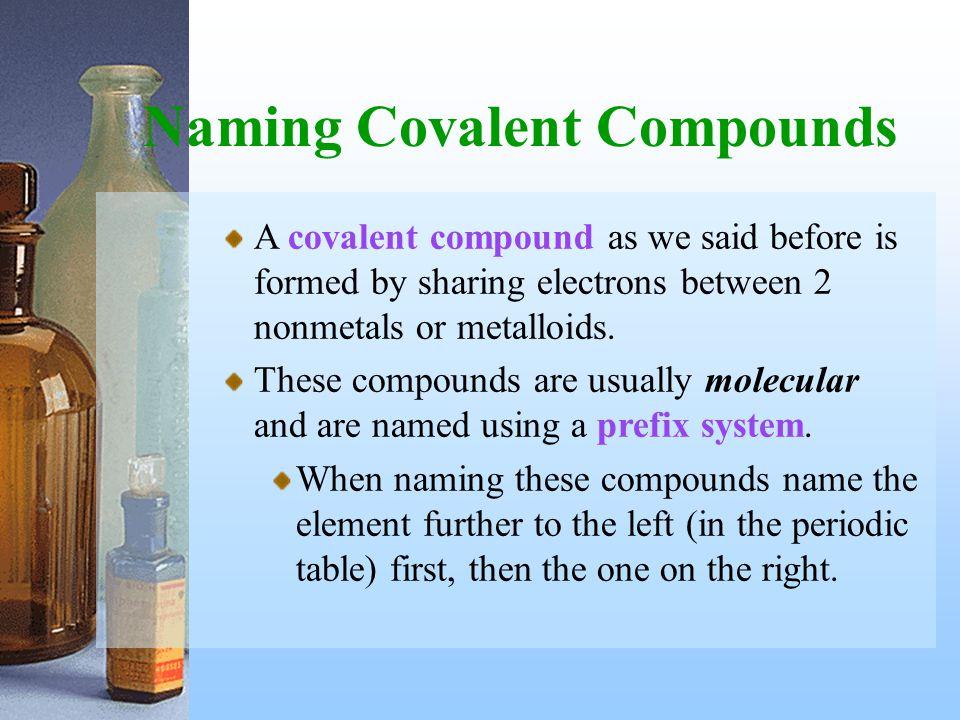Determining Chemical Formulas Determining the true molecular formula from the empirical formula.